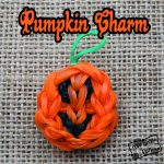 Halloween Pumpkin Rainbow Loom