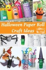 Spooky Halloween Toilet Paper Roll Crafts