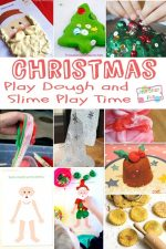 Christmas Play Dough and Slime Recipes and Activities