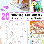 Number and Counting Printables for Kids