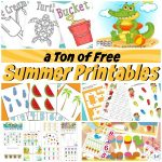 A Ton Of Free Summer Printables