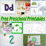 Enchanted Preschool Printables