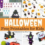 Free Printable Halloween Worksheets and More