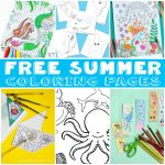 Coloring Pages to Get You Through the Summer