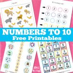 Numbers to 10 Worksheets