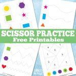 New Scissor Practice Printables