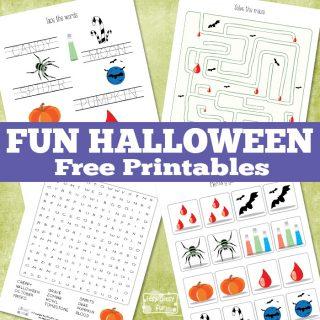 Fun Halloween Printables for Kids