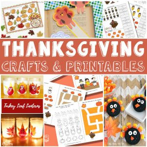 Thanksgiving Crafts, Printables and Activities