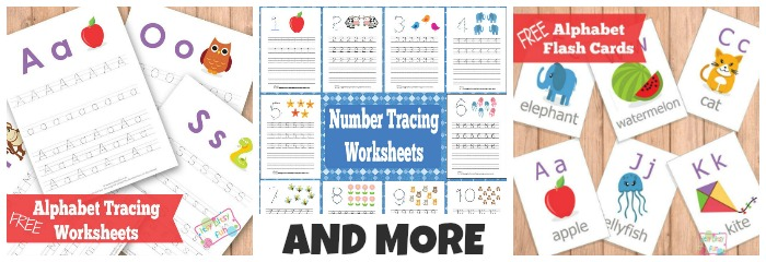 Early Learners - Flash Cards, Letter and Word Tracing, Scissor Skills