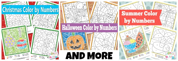 Simple Color by Numbers