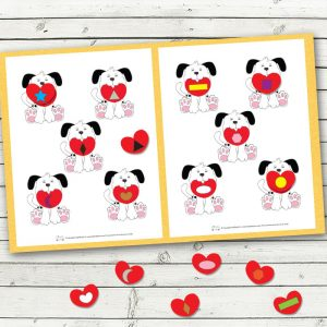Valentines day file folder games