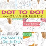 Printable Dot to Dot Worksheets for Kids