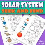 Solar System Seek and Find Printable