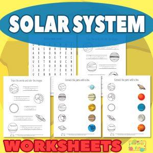 Solar System Worksheets