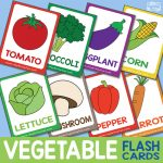 Free Vegetable Flashcards