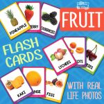 Fruit Flashcards with Real Life Photos