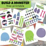 Free Printable Build a Monster