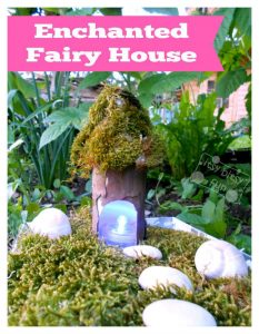 Natural Toilet Paper Roll Fairy House