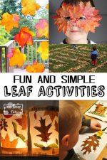 10 Simple Leaf Activities