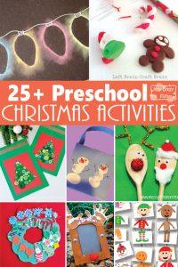 25+ Christmas Crafts and Activities for Preschoolers