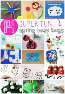 14 Super Fun Spring Busy Bags for Kids