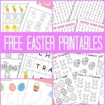 A Bunch Of Easter Printables