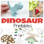 A to of free dinosaur printables for kids