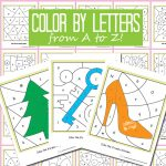 From A to Z – Color by Letters