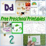 Enchanted Preschool Printables