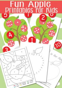 Fun Apple Printables
