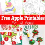 Apple themed printables