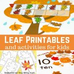 Free Leaf Printables and Activities