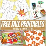 Time for a Ton of Free Fall Printables