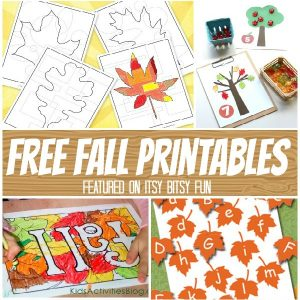 Time for a Ton of Fall Printables