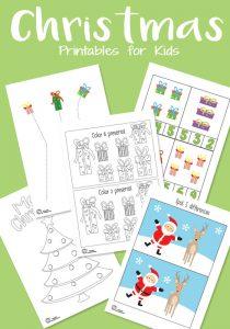 Christmas Printable Pack for Your Kids