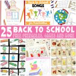 Back to School Learning Free Printables