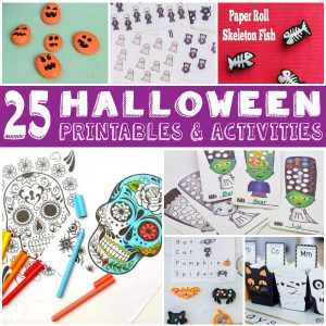 Halloween Printables and Activities