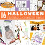 Color Through Halloween – Fun Halloween Coloring Pages