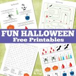 Fun Halloween Printables for Kids