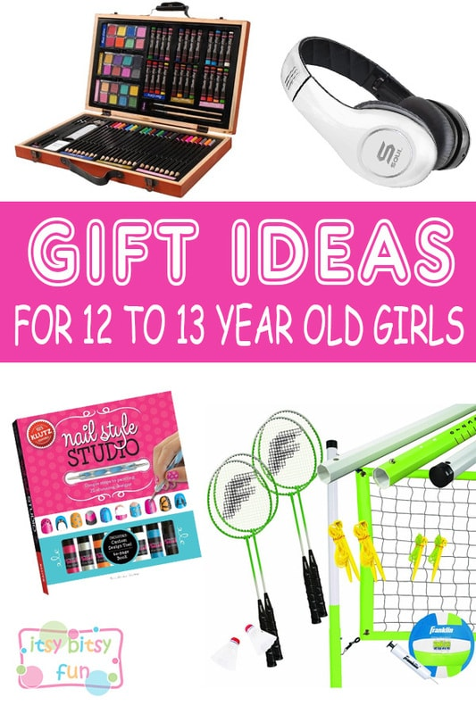 Best Gifts For 12 Year Old Girls. Lots of Ideas for 12th Birthday, Christmas and 12 to 13 Year Olds
