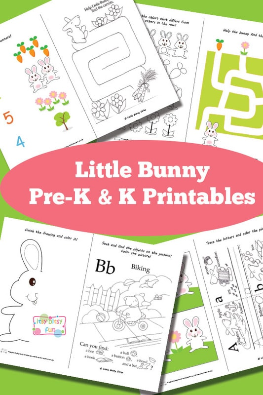 Little Bunny Preschool Pack