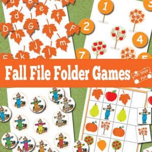 Fall File Folder Games (free)