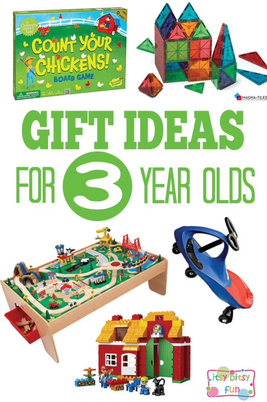 Gifts for 3 Year Olds