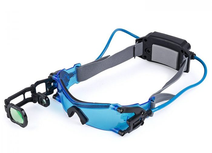 Well These Arent The True Nigh Vision Goggles As They Use Light To Help Kids See In Dark But You Can Also Get Real Deal At A Much Higher Price