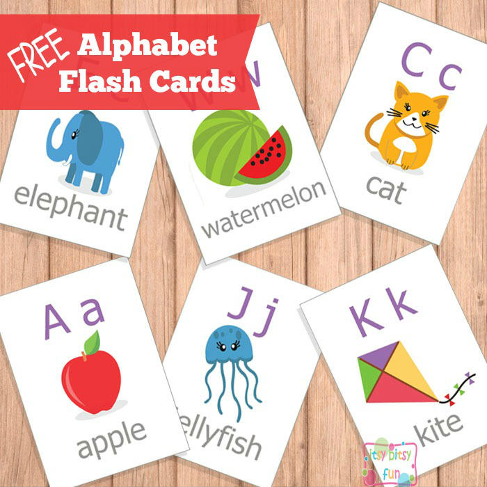 Printable Alphabet Flash Cards – ABC
