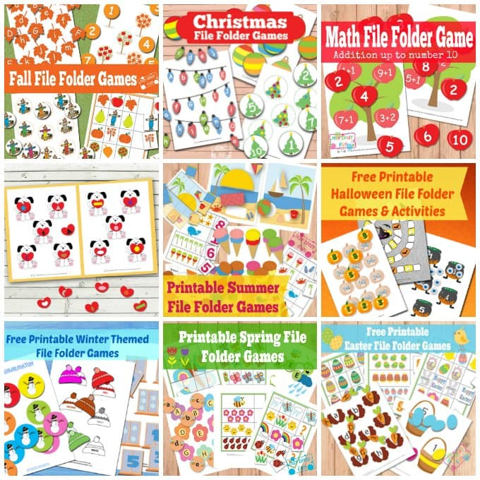 Stupendous image throughout free printable file folder games for preschool
