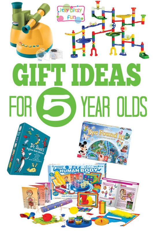 Toys For 5 Year Olds : Gifts for year olds itsy bitsy fun