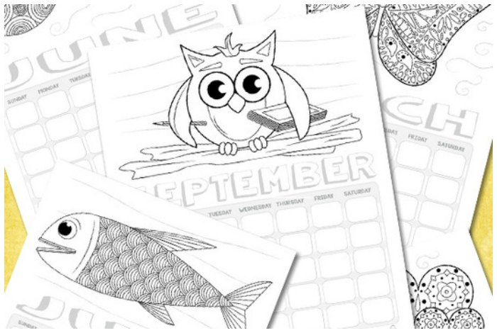free printable coloring pages for kids - Coloring Stuff