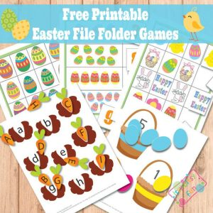 Easte file folder games