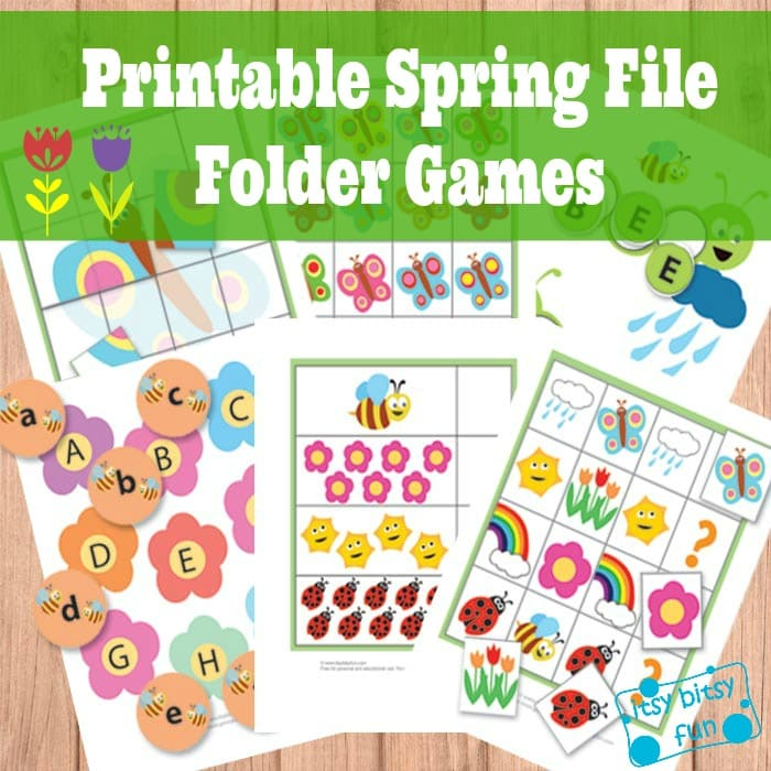 Sly image within free printable file folder games for preschool